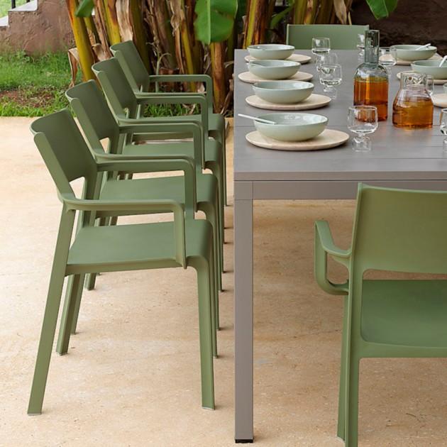Стілець Trill Agave (40250.16.000) - Стільці для вуличних кафе Nardi
