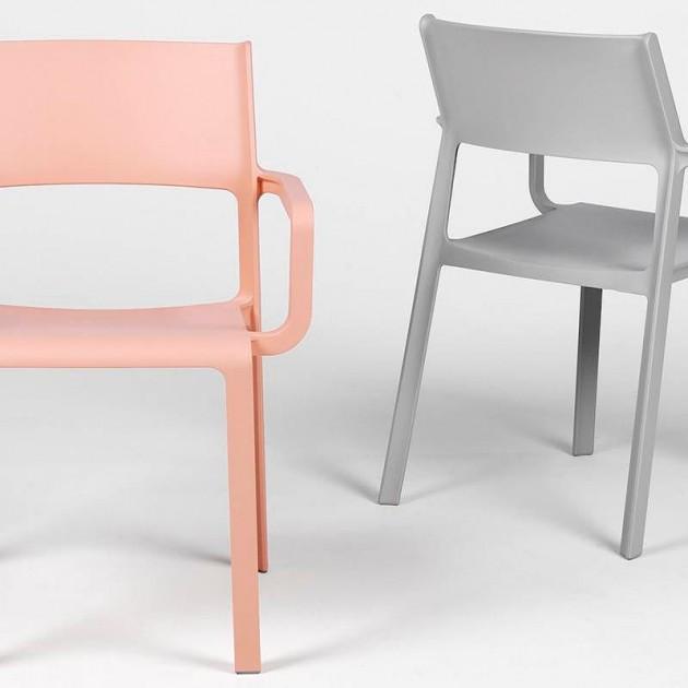 Крісло Trill Grigio (40250.03.000) - Вуличні крісла для кафе Nardi