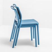Вуличний стілець Ara 310 (310bl) - Стільці для вуличних кафе Pedrali