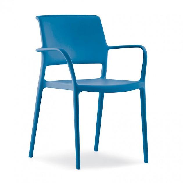 Вуличний стілець Ara 315 (315bl) - Стільці для вуличних кафе Pedrali