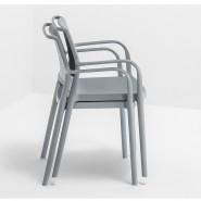 Вуличний стілець Ara 315 (315gc) - Стільці для вуличних кафе Pedrali