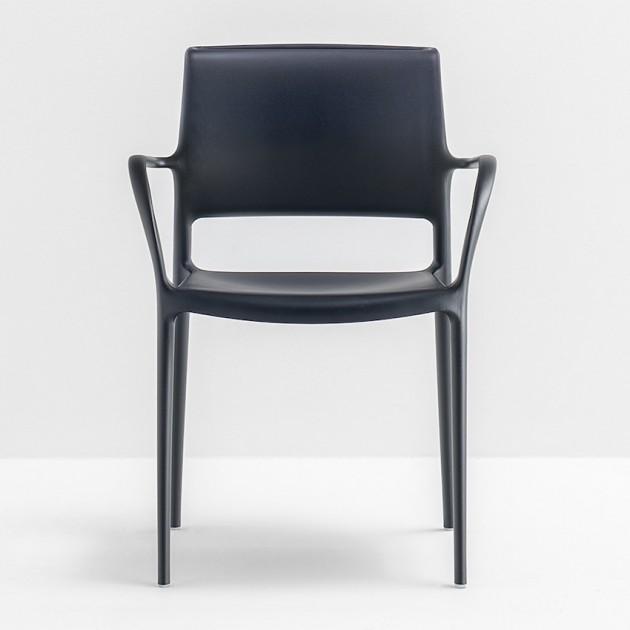 Вуличний стілець Ara 315 (315ne) - Стільці для вуличних кафе Pedrali