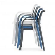 Вуличний стілець Ara 315 (315sa) - Стільці для вуличних кафе Pedrali