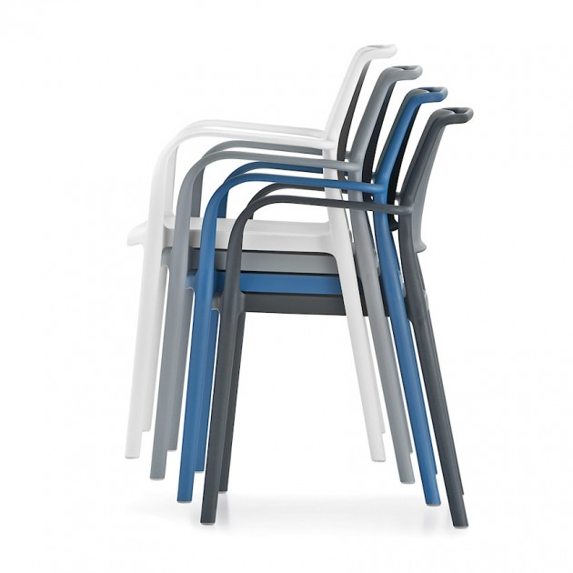 Вуличний стілець Ara 315 (315ro) - Стільці для вуличних кафе Pedrali