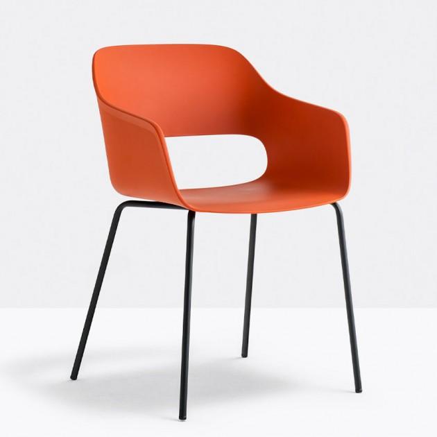 Крісло Babila 2735 Orange (2735AR) - Вуличні крісла для кафе Pedrali