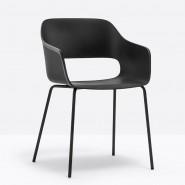 Крісло Babila 2735 Nero (2735NE) - Вуличні крісла для кафе Pedrali