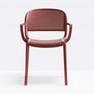 Вуличний стілець Dome 266 (266ro) - Стільці для вуличних кафе Pedrali