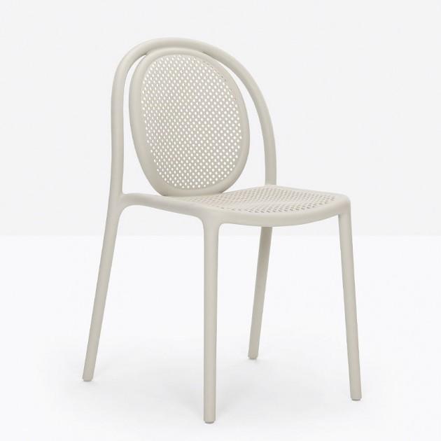 Стілець Remind 3730 Beige (3730BE) - Стільці для літніх кафе Pedrali