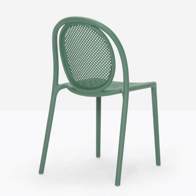 Стілець Remind 3730 Verde (3730VE) - Стільці для літніх кафе Pedrali