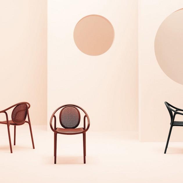 Крісло Remind 3735 Beige (3735be) - Вуличні крісла для кафе Pedrali