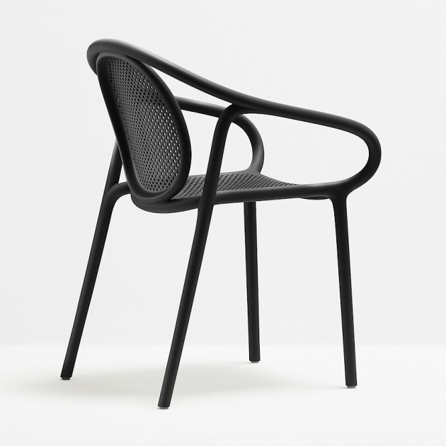 Крісло Remind 3735 Nero (3735ne) - Вуличні крісла для кафе Pedrali