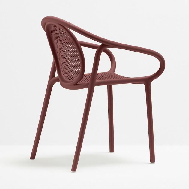 Крісло Remind 3735 Rosso (3735ro) - Вуличні крісла для кафе Pedrali