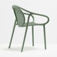 Крісло Remind 3735 Verde (3735ve) - Вуличні крісла для кафе Pedrali