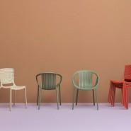 Стілець для кафе Tatami 306 (306bi) - Стільці для вуличних кафе Pedrali