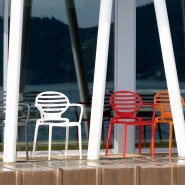 Крісло Cokka 2280 Orange (228030) - Вуличні крісла для кафе SCAB Design
