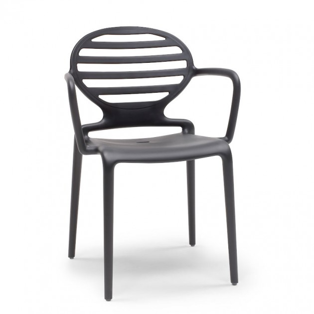 Крісло Cokka 2280 Antracite (228081) - Вуличні крісла для кафе SCAB Design