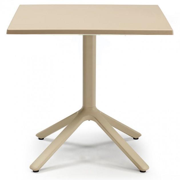 Квадратний стіл Eco 2449 80x80 Tortora (244915) - Обідні столи SCAB Design