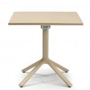 Квадратний стіл для кафе Eco 2462 70x70 Tortora (246215) - Обідні столи SCAB Design