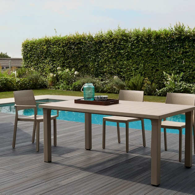 Вуличний стіл Ercole 2145 Tortora (214515) - Обідні столи SCAB Design