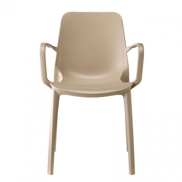 Крісло Ginevra 2333 Tortora (233315) - Вуличні крісла для кафе SCAB Design