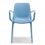 Крісло Ginevra 2333 Azzurro (233362) - Вуличні крісла для кафе SCAB Design