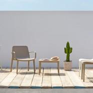 Стілець Ginevra 2334 Linen (233411) - Стільці для літніх кафе SCAB Design