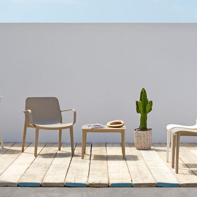Стілець Ginevra 2334 Tortora (233415) - Стільці для літніх кафе SCAB Design