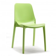 Стілець Ginevra 2334 Light Green (233451) - Стільці для літніх кафе SCAB Design