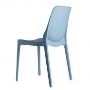 Стілець Ginevra 2334 Azzurro (233462) - Стільці для літніх кафе SCAB Design