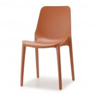 Стілець Ginevra 2334 Terracotta (233473) - Стільці для літніх кафе SCAB Design