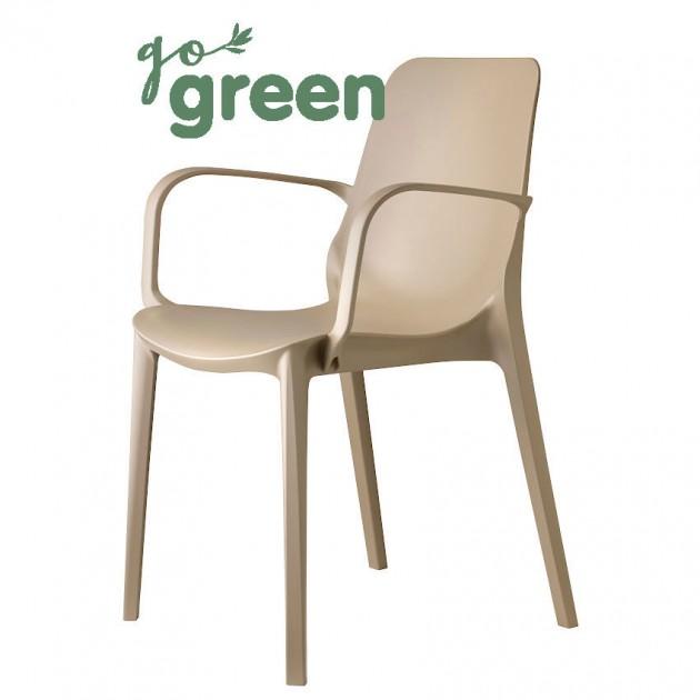 Крісло Ginevra Go Green 2378 Dove Grey (237815) - Крісла Ginevra Go Green 2378 S•CAB