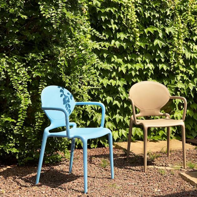 Крісло Gio 2314 Tortora (231415) - Вуличні крісла для кафе SCAB Design