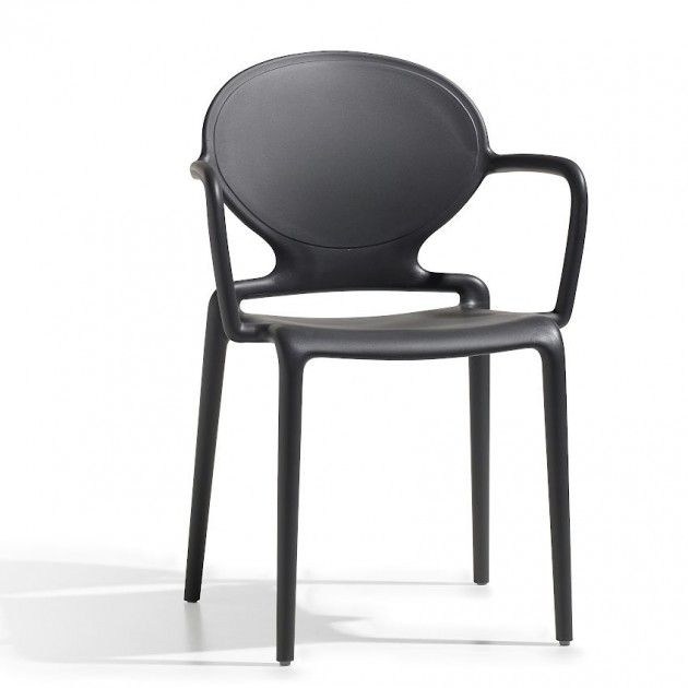 Крісло Gio 2314 Antracite (231481) - Вуличні крісла для кафе SCAB Design