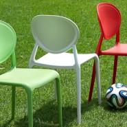Стілець Gio 2315 Light Green (231551) - Стільці для літніх кафе SCAB Design