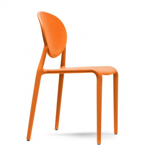 Стілець Gio 2315 Orange (231530) - Стільці для літніх кафе SCAB Design