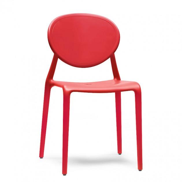 Стілець Gio 2315 Rosso (231540) - Стільці для літніх кафе SCAB Design
