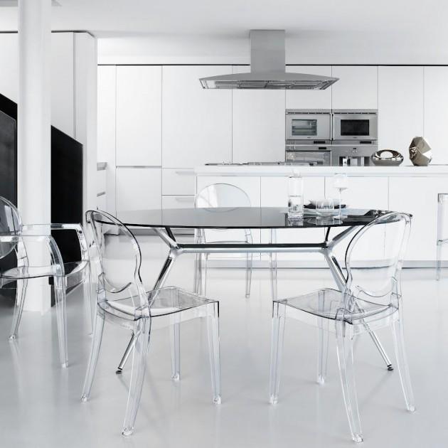 Крісло Igloo 2355 Transparent (2355100) - Крісла Igloo 2355 SCAB Design