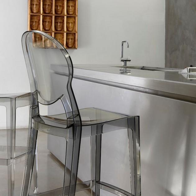 Барний стілець Igloo 2358 Smoked (2358183) - Барні стільці Igloo 2358 SCAB Design