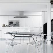 Напівбарний стілець Igloo 2359 Transparent (2359100) - Напівбарні стільці Igloo 2359 SCAB Design