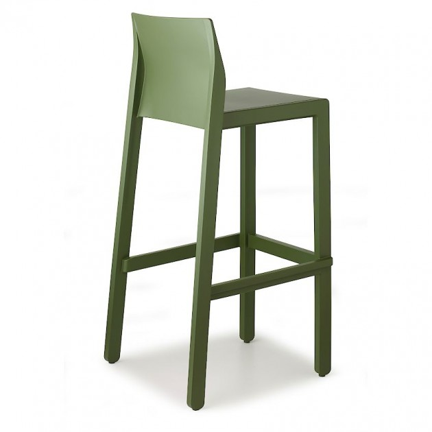Барний стілець Kate 2344 Olive Green (234456) - Kate 2344 SCAB Design