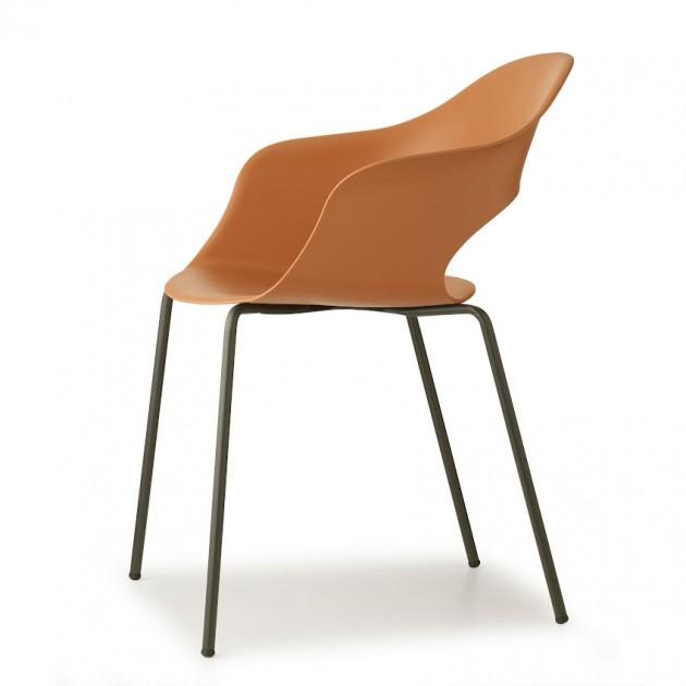 Крісло Lady B 2696 Antracite Terracotta (2696VA73) - Крісла Lady B 2696 Technopolymer S•CAB