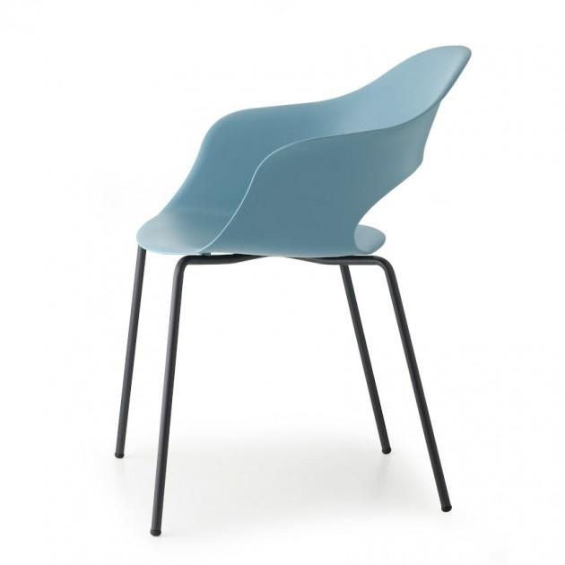 Крісло Lady B 2696 Black Air-force Blue (2696VN63) - Крісла Lady B 2696 Technopolymer S•CAB