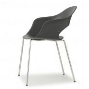 Крісло Lady B 2696 Chrome Antracite (2696CR81) - Крісла Lady B 2696 Indoor S•CAB