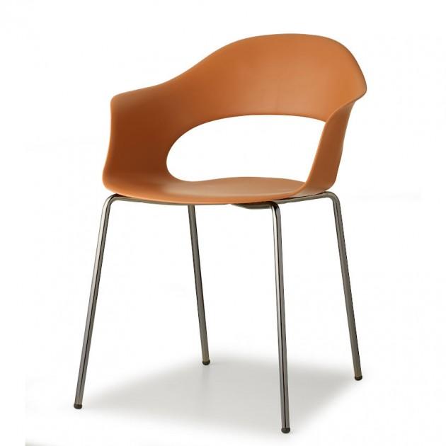 Крісло Lady B 2696 Glossy Nickel Terracotta (2696NL73) - Крісла Lady B 2696 Indoor S•CAB