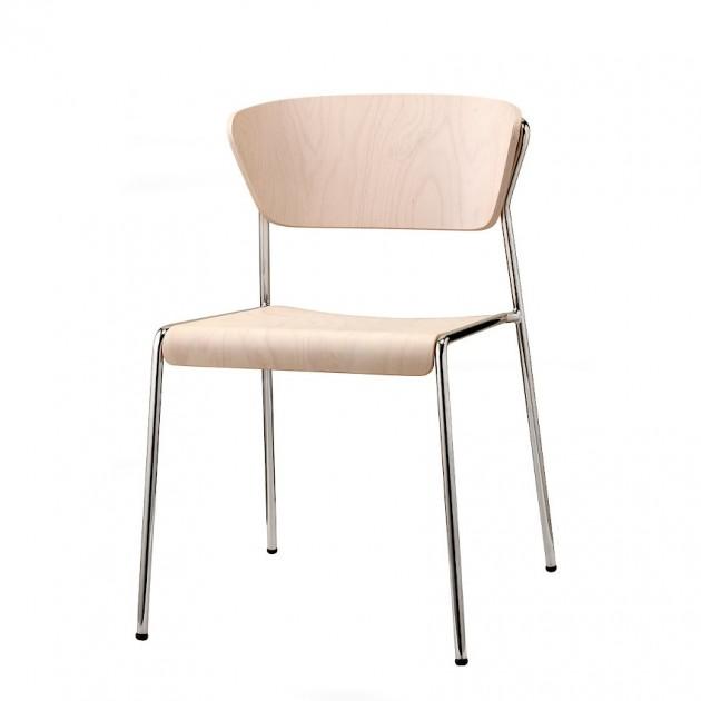Стілець Lisa 2852 Wood (2852CRFS) - Lisa 2852 Wood SCAB Design
