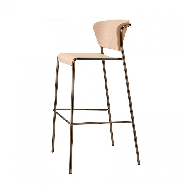 Барний стілець Lisa 2854 Wood (2854NLRN) - Lisa 2854 Wood SCAB Design