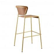 Барний стілець Lisa 2854 Wood (2854OSNC) - Lisa 2854 Wood SCAB Design