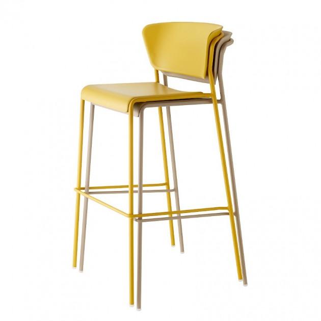 Барний стілець Lisa 2867 Technopolymer (2867VY22) - Lisa 2867 Technopolymer SCAB Design