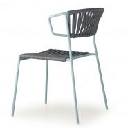 Крісло Lisa Filò 2869 Black Light Blue (2869ZON80) - Lisa 2869 Filò S•CAB