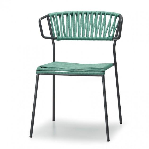 Крісло Lisa Filò 2869 Mint Antracite (2869ZAN57) - Lisa 2869 Filò S•CAB